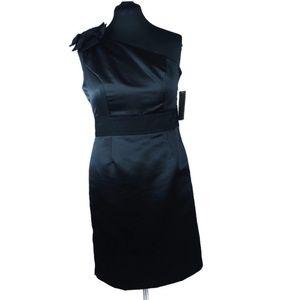 NWT Black One Shoulder NUE by Shani Dress